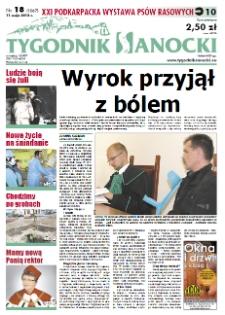 Tygodnik Sanocki, 2012, nr 18