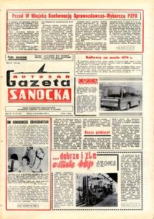"Gazeta Sanocka ""Autosan"", 1979, nr 34-36"