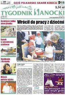 Tygodnik Sanocki, 2012, nr 31