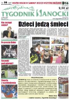 Tygodnik Sanocki, 2012, nr 38