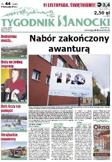 Tygodnik Sanocki, 2012, nr 44