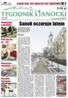 Tygodnik Sanocki, 2012, nr 46