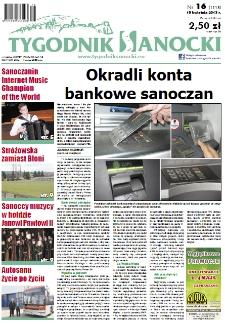 Tygodnik Sanocki, 2013, nr 16