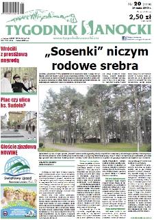 Tygodnik Sanocki, 2013, nr 20