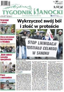 Tygodnik Sanocki, 2013, nr 21