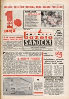 "Gazeta Sanocka ""Autosan"", 1974, nr 4-5"