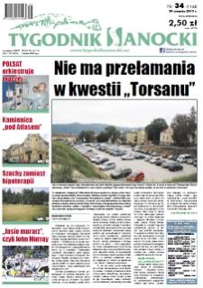 Tygodnik Sanocki, 2013, nr 34