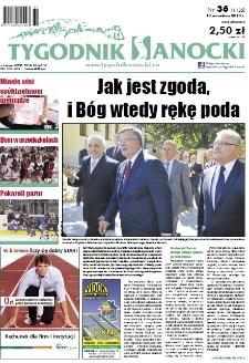 Tygodnik Sanocki, 2013, nr 36