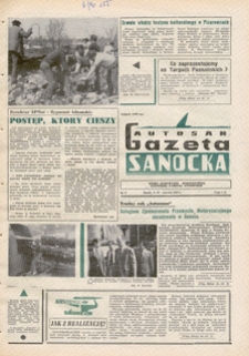 "Gazeta Sanocka ""Autosan"", 1974, nr 6-7"