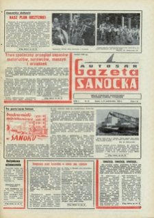 "Gazeta Sanocka ""Autosan"", 1974, nr 14-15"