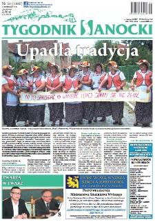 Tygodnik Sanocki, 2014, nr 31