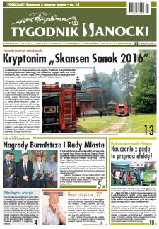Tygodnik Sanocki, 2016, nr 25