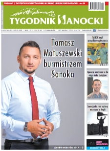 Tygodnik Sanocki, 2018, nr 45