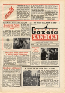 "Gazeta Sanocka ""Autosan"", 1976, nr 20-22"