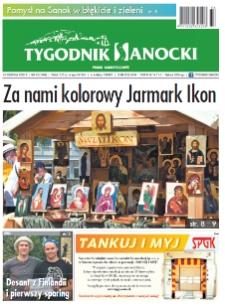 Tygodnik Sanocki, 2020, nr 33
