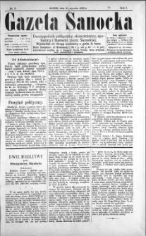 Gazeta Sanocka, 1895, nr 2