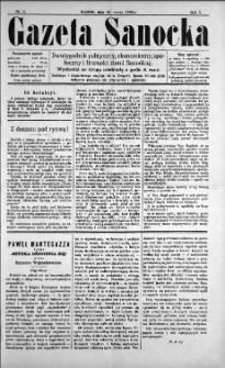 Gazeta Sanocka, 1895, nr 6