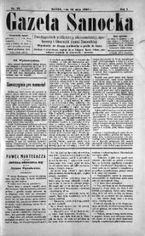 Gazeta Sanocka, 1895, nr 10