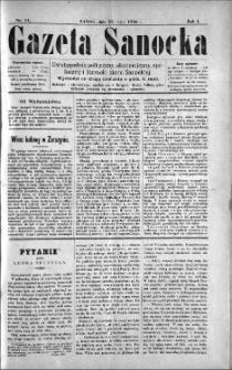 Gazeta Sanocka, 1895, nr 11