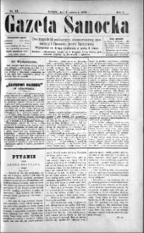 Gazeta Sanocka, 1895, nr 12