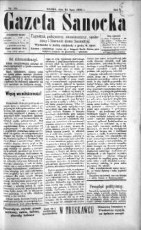 Gazeta Sanocka, 1895, nr 15