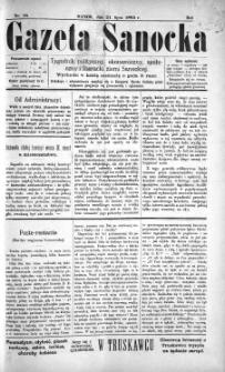 Gazeta Sanocka, 1895, nr 16