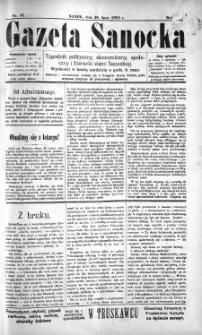 Gazeta Sanocka, 1895, nr 17