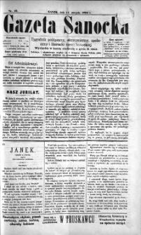 Gazeta Sanocka, 1895, nr 19