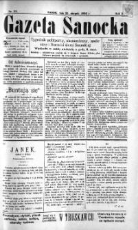 Gazeta Sanocka, 1895, nr 21