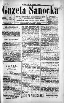 Gazeta Sanocka, 1895, nr 23