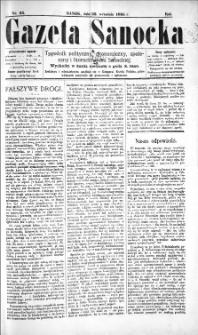 Gazeta Sanocka, 1895, nr 25