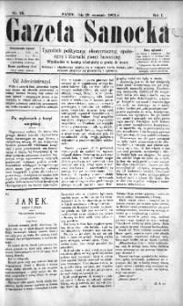 Gazeta Sanocka, 1895, nr 26