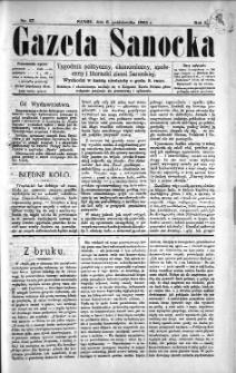 Gazeta Sanocka, 1895, nr 27
