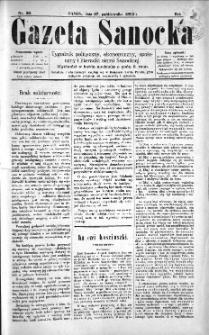 Gazeta Sanocka, 1895, nr 30