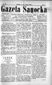 Gazeta Sanocka, 1895, nr 32