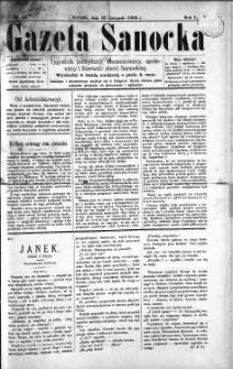 Gazeta Sanocka, 1895, nr 33