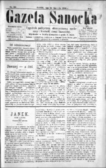 Gazeta Sanocka, 1895, nr 34