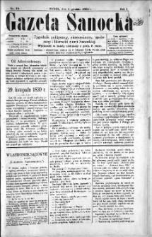 Gazeta Sanocka, 1895, nr 35