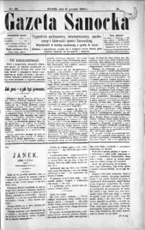 Gazeta Sanocka, 1895, nr 36