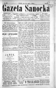 Gazeta Sanocka, 1895, nr 37