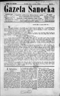 Gazeta Sanocka, 1896, nr 39