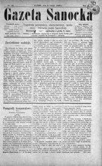 Gazeta Sanocka, 1896, nr 44