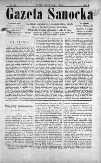 Gazeta Sanocka, 1896, nr 45
