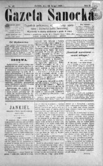 Gazeta Sanocka, 1896, nr 47