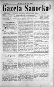 Gazeta Sanocka, 1896, nr 52