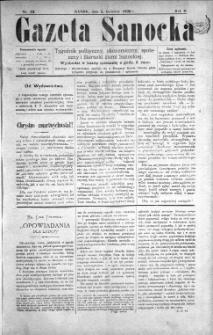 Gazeta Sanocka, 1896, nr 53