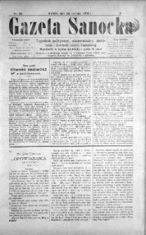 Gazeta Sanocka, 1896, nr 56