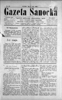 Gazeta Sanocka, 1896, nr 57