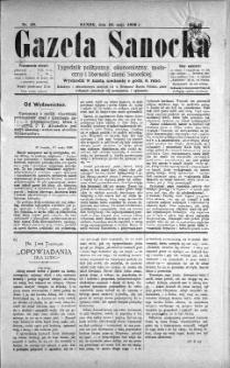 Gazeta Sanocka, 1896, nr 58