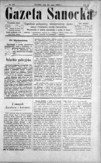 Gazeta Sanocka, 1896, nr 61